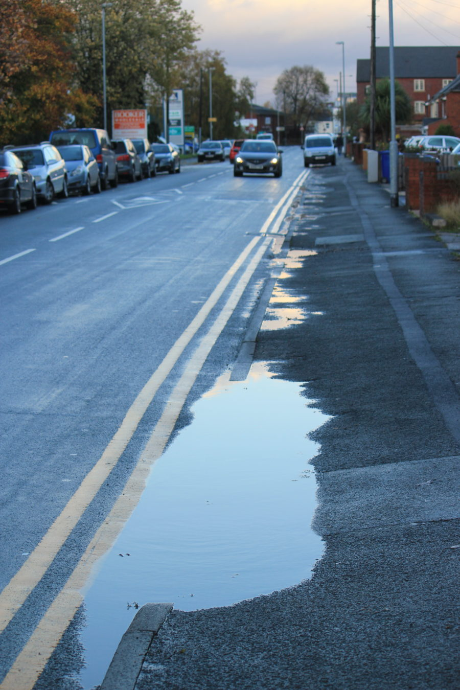 Photo Anglesey Rd Puddle