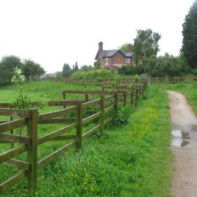 Photo Washlands Path To Cottage